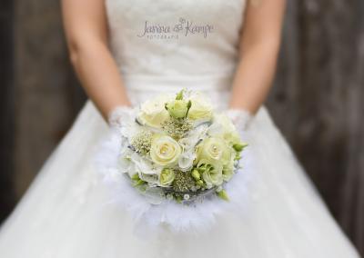 Hochzeitsfotografie 21 Brautstrauß Janina Kampe Fotografie